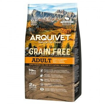 Arquivet Dog Grain Free Adult Turkey 2 kg