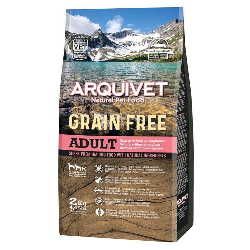Arquivet Dog Grain Free Salmon & Atun 12 kg