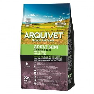 Arquivet Dog Adult Mini / Pollo y Arroz 3 kg
