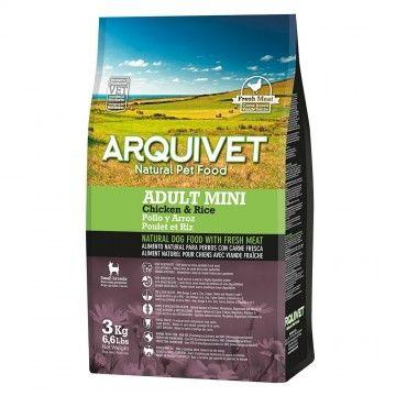 Arquivet Dog Adult Mini / Pollo y Arroz 3 kg