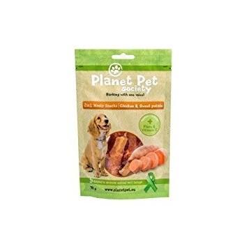 Planet Pet Snack Frutas Pollo y Batata 70gr