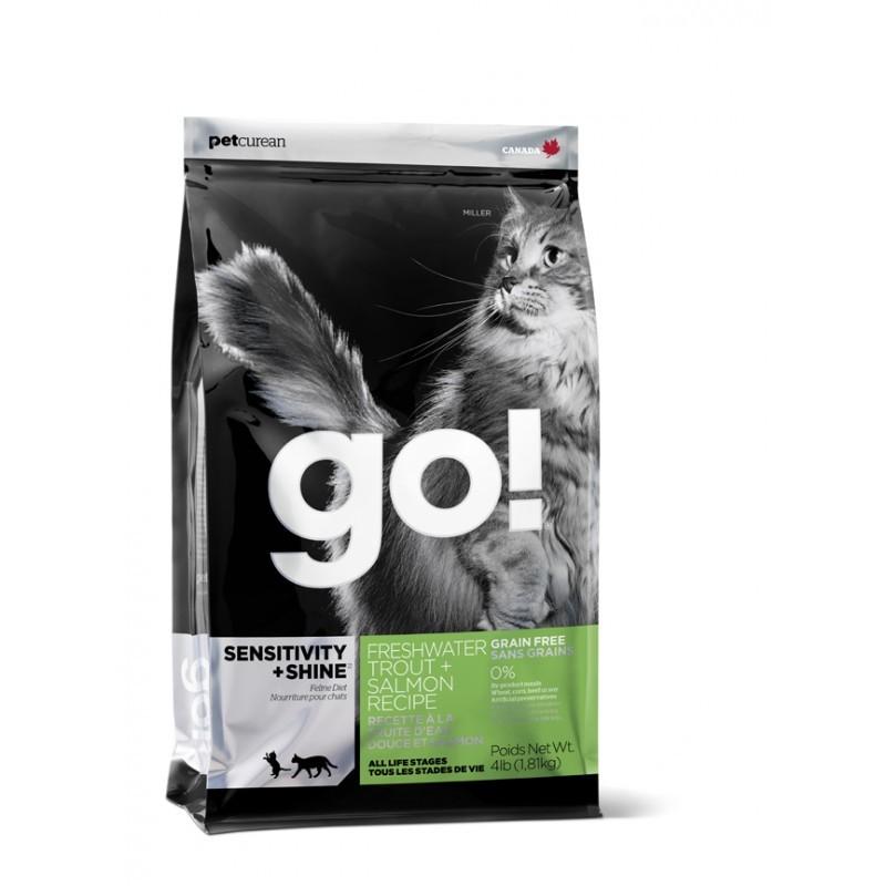 Go! Sensitivity Grain Free Trout Salmon Cat 1,8kg