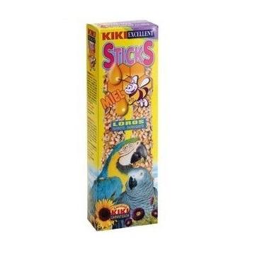 Kiki Sticks Loros Con Miel Paquete 2 Uds