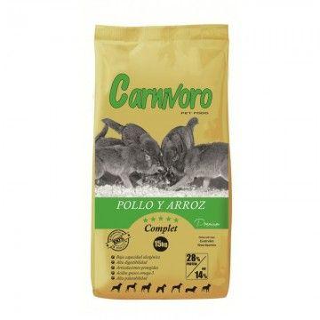 Carnívoro Complet Pollo y Arroz 15 kg