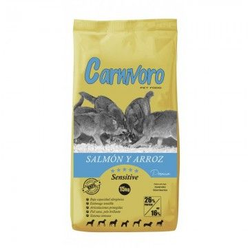 Carnívoro Sensitive Salmón Arroz 15 kg
