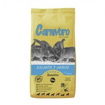 Carnívoro Sensitive Salmón Arroz 15 kg