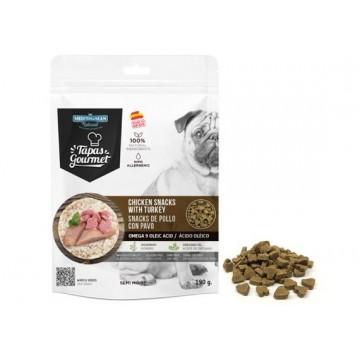 Tapa Gourmet Dog Pavo-Pollo 190 grs caja 12 uds