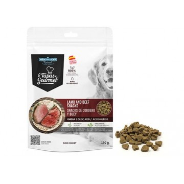 Tapa Gourmet Dog Buey-Cordero 190 grs caja 12 uds