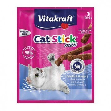 Vitakraft Cat Stick Mini Pescado Omega 3 (3 uds)