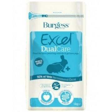 Burgess Excel Dual Care Conejo-Cobaya 1Kg