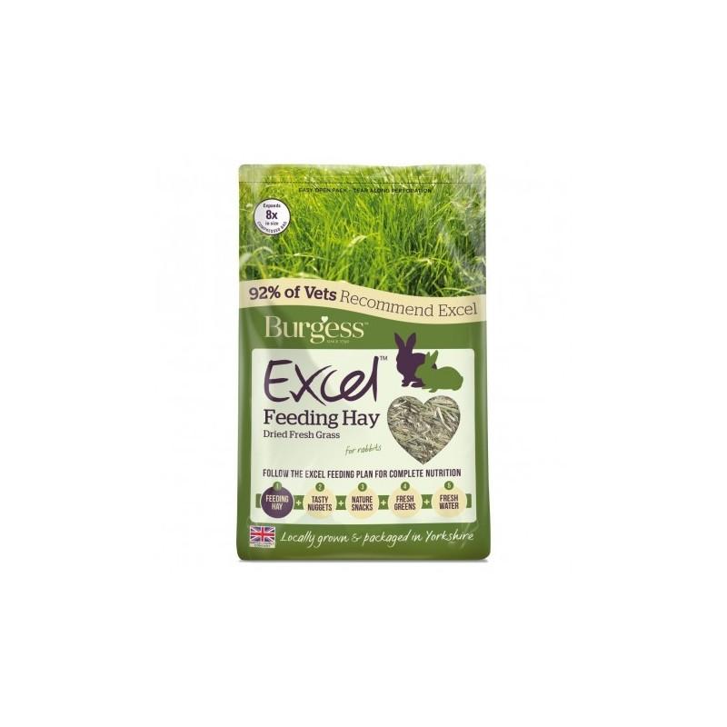 Burgess Excel Heno Pasto Natural  1 Kg