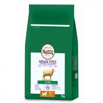 Nutro Grain Free Junior Raza Mediana Cordero 7 kg