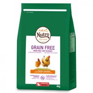 Nutro Grain Free Gato Adult Pollo 4 kg