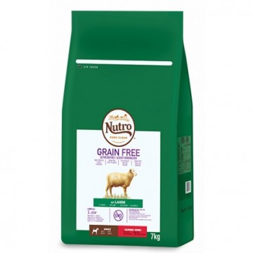 Nutro Grain Free Adult Mini Cordero 1,4 kg