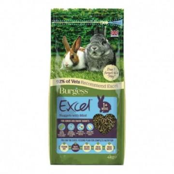 Burgess Excel Conejo Junior & Enano 4Kg