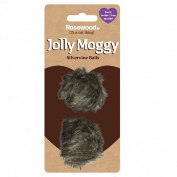 Rosewood Gato Jolly Moggy 2 pelotas pelo