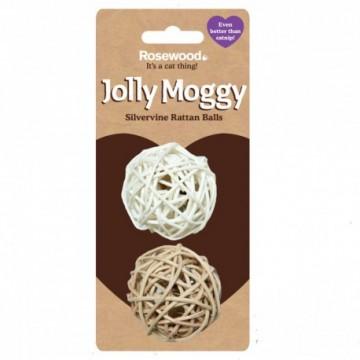 Rosewood Gato Jolly Moggy 2 pelotas ratón