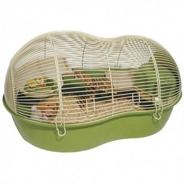Rosewood Casa Hamster Eco Resina de Bambú Verde (58 x 40 x 31 cm)