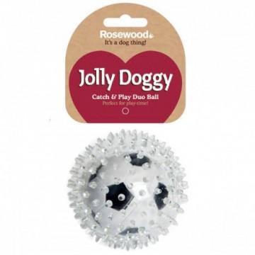 Rosewood Jolly Doggy Pelota Futbol Pinchos 8cm