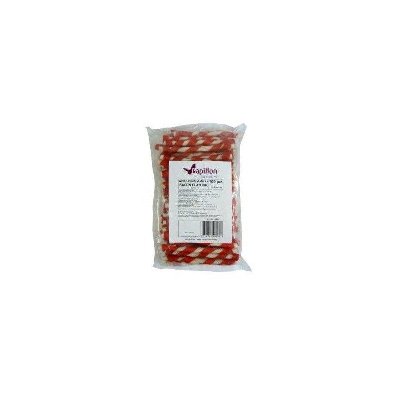 Palitos Torcidos Bacon 13cm, 8-10g (Bolsa 100ud)
