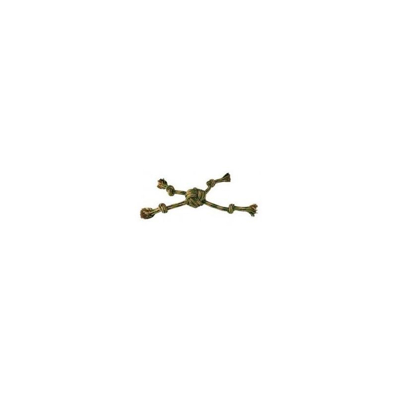 Camuflaje Cuerda Estrella con u Nudos, 38cm