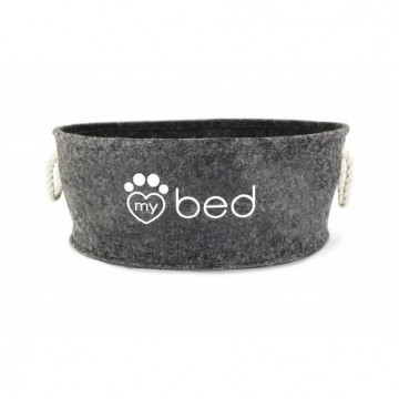 Cama My Bed Fieltro Gris 50 x 21 cm
