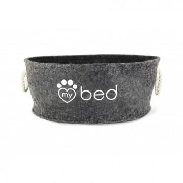 Cama My Bed Fieltro Gris  50 x 21 cm