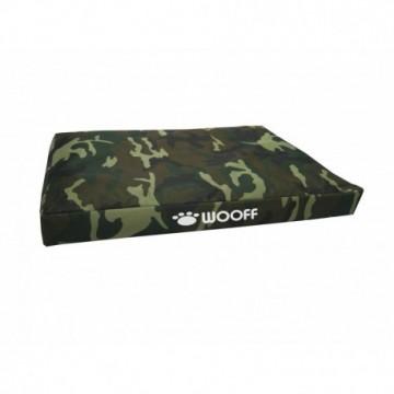 Wooff Colchón Box Camo Green M 55x75x15cm