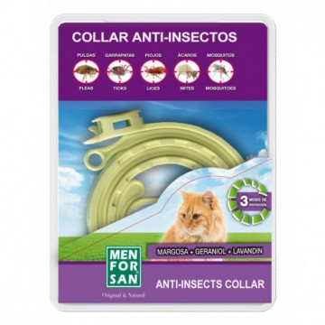 Menforsan Collar Anti-Insecto Margosa Gato