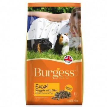 Burgess Excel Cobaya con Menta 10Kg