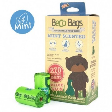 BecoBags Mint 18 rollos x 15 bolsas (270 total)