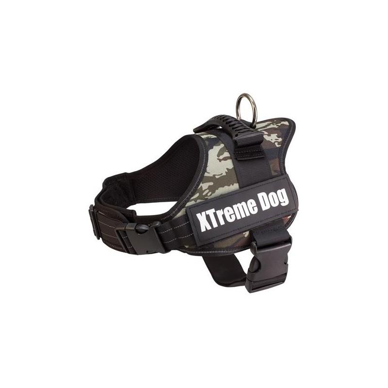 Arnés Xtreme Dog Camuflaje XS (44-57cm)