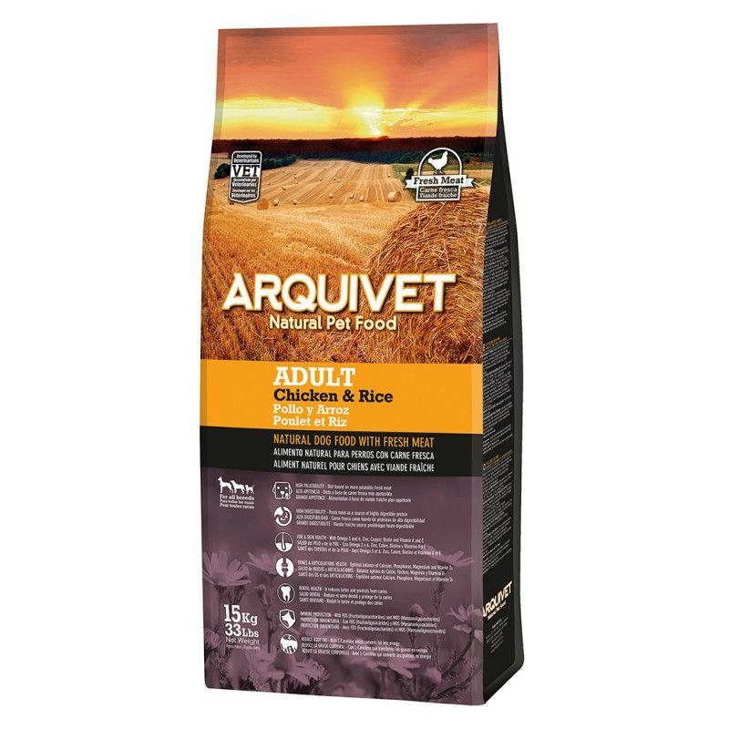 Arquivet Dog Adult Chicken & Rice