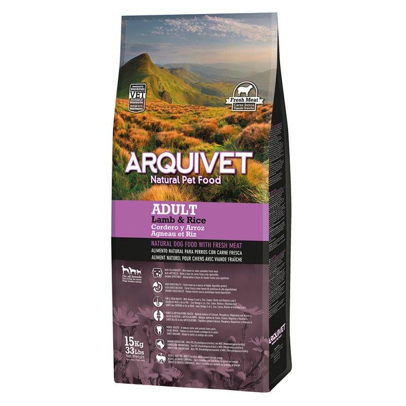 Arquivet Dog Adult Lamb & Rice 15 kg