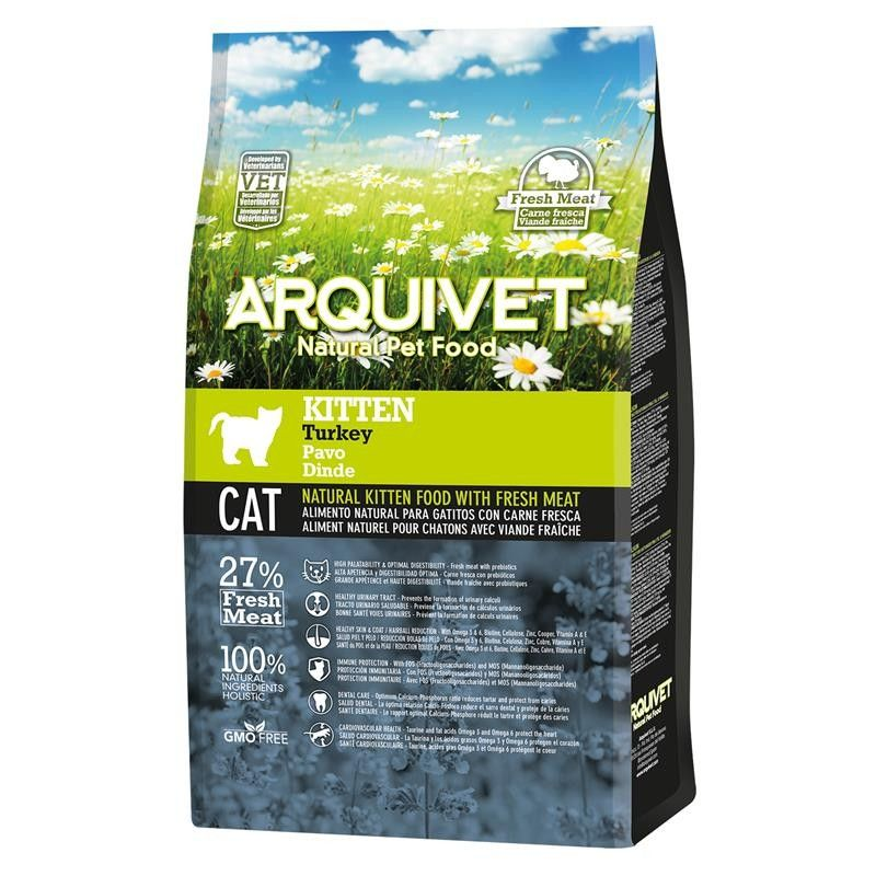 Arquivet Cat Kitten Turkey 1,5 kg