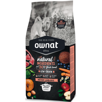 Ownat Ultra Medium Lamb & Rice 14 kg