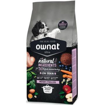 Ownat Ultra Medium Sterilized 14 kg