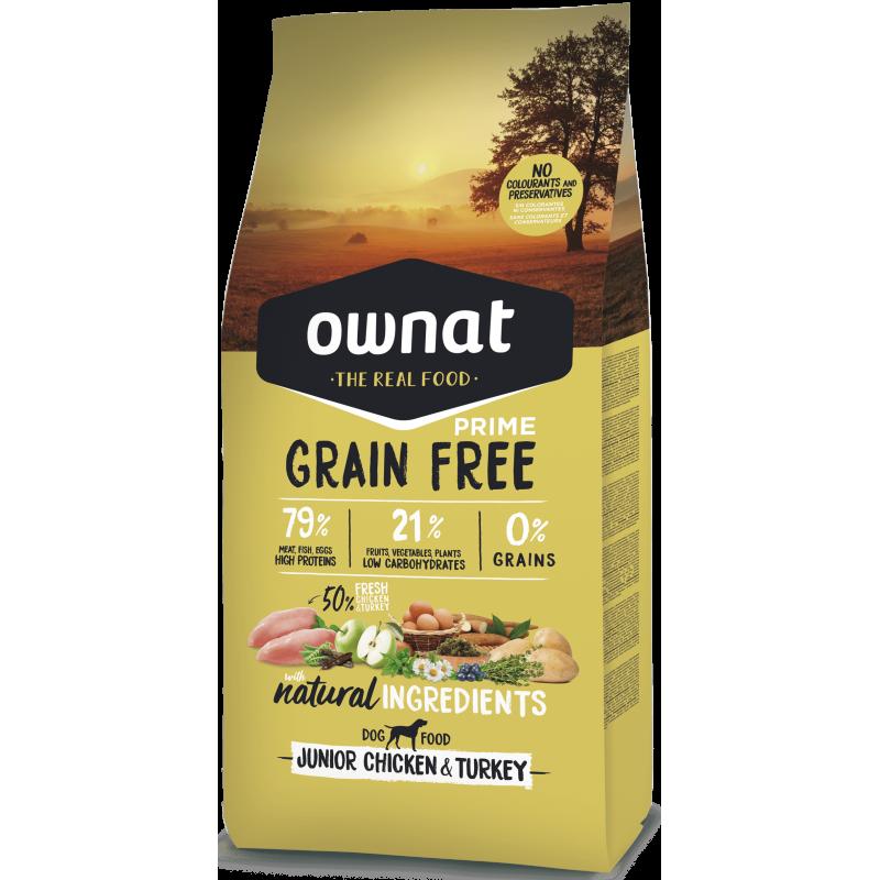 Ownat Prime Grain Free Junior Chicken & Turkey 14 kg