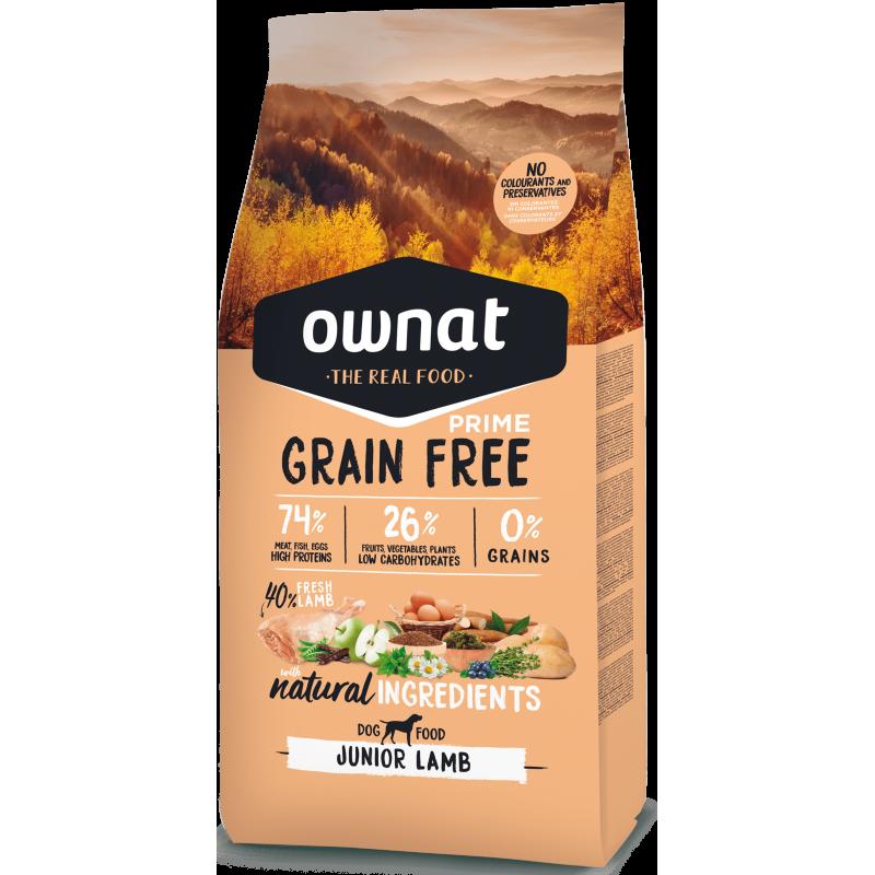 Ownat Prime Grain Free Junior Lamb 14 kg
