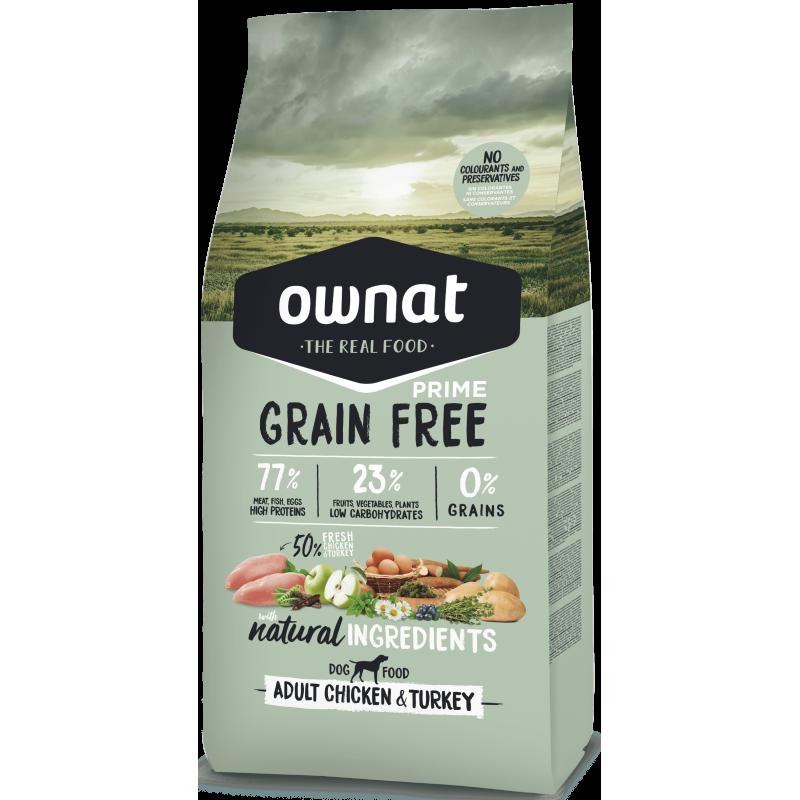 Ownat Prime Grain Free Adult Chicken & Turkey 14 kg
