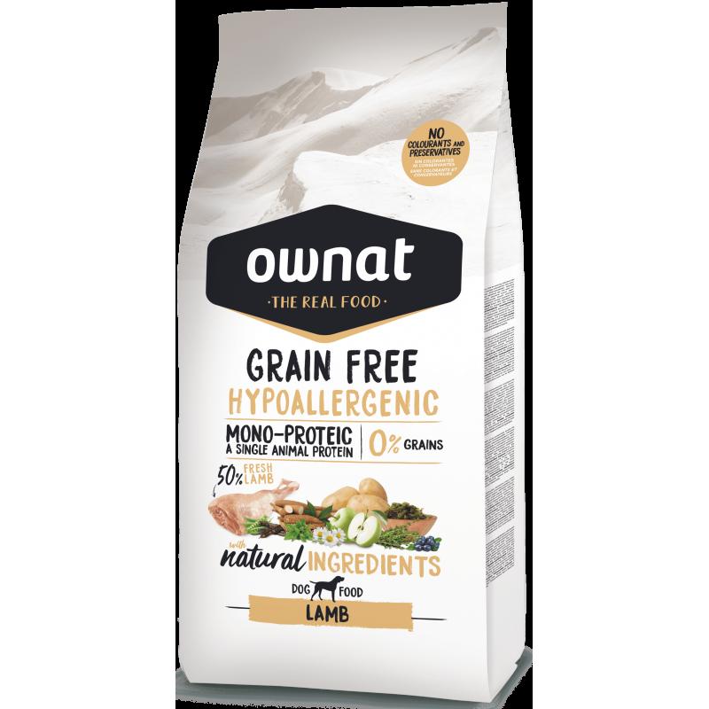 Ownat Prime Grain Free Hypo Lamb 14 kg