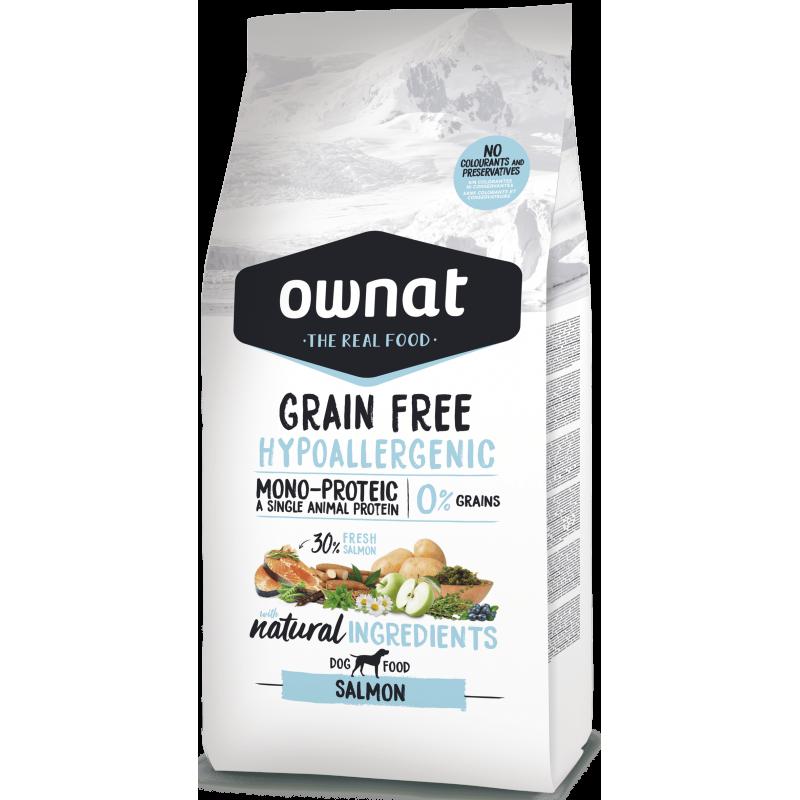 Ownat Prime Grain Free Hypo Salmon 14 kg