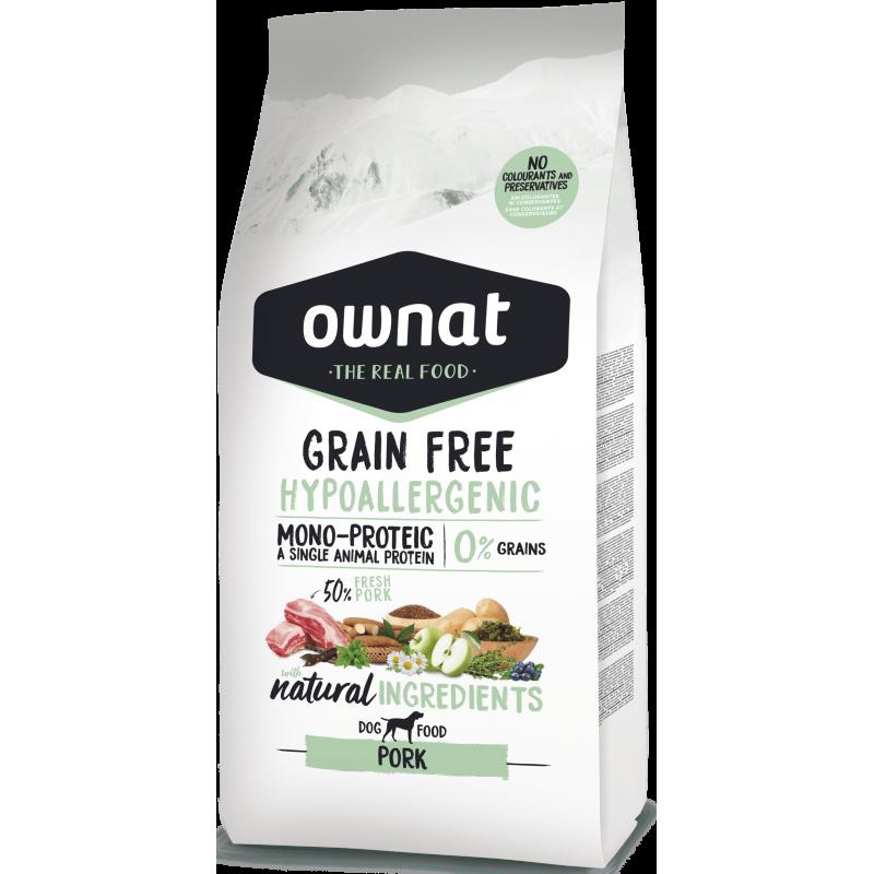 Ownat Prime Grain Free Hypo Pork 14 kg