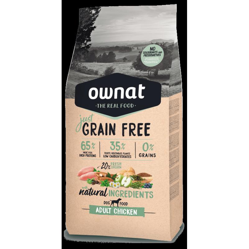 Ownat Just Grain Free Adult Chicken 14 kg
