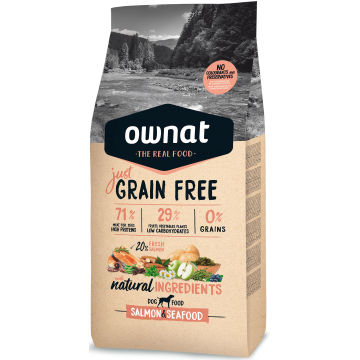 Ownat Just Grain Free Salmon & Sea Food 14 kg
