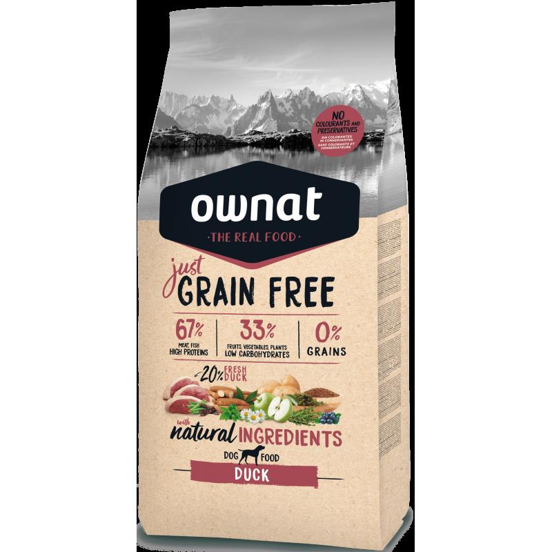 Ownat Just Grain Free Duck 14 kg