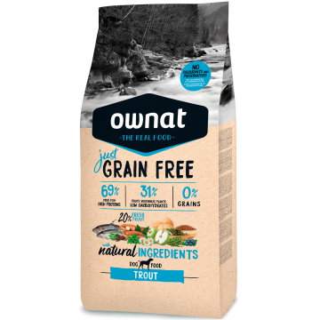 Ownat Just Grain Free Trout 14 kg