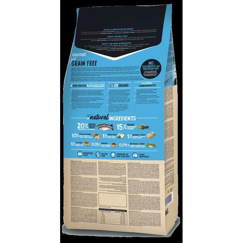 Ownat Just Grain Free Trout 14 kg