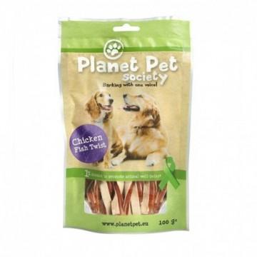 Planet Pet Snack Twist Pollo y Pescado 400gr