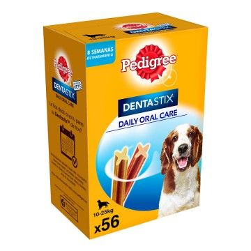 Pack Pedigree Dentastix Uso Diario Limpieza Dental para Perros Medianos